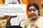 How Sushma Swaraj Gave It Back To Trolls Over Lucknow Inter-Faith CoupleControversy