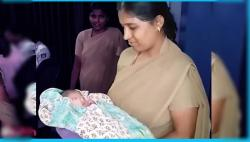 Bengaluru Lady Cop Breastfeeds Abandoned Baby To Save His Life