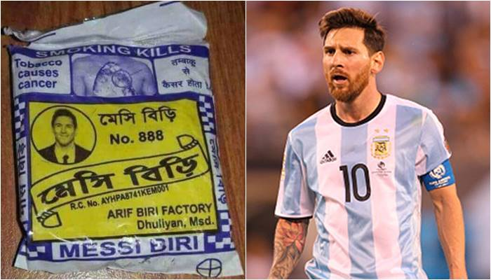 In Football-Crazy Bengal, Messi and Ronaldo Bidi Is A Thing!