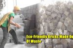 In Aligarh, These 'Eco-Friendly' Bricks Made Of Waste Will Tackle Pollution