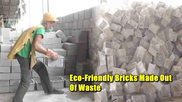 In Aligarh, These 'Eco-Friendly' Bricks Made Of Waste Will TacklePollution
