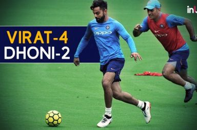 Move over Messi, Ronaldo, Virat Kohli beats MS Dhoni 4-2 In Football