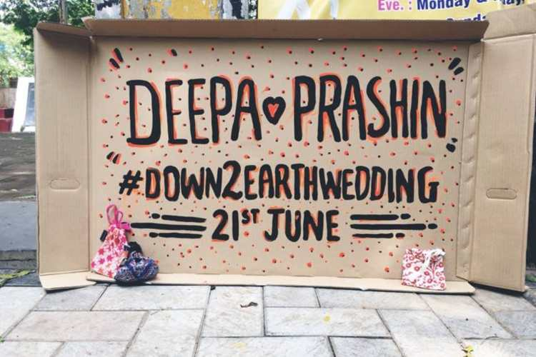 The 'Eco-Friendly' Shaadi: This Mumbai Couple Used Only Recycled Products At Their Wedding