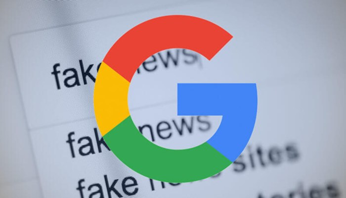 To Check The Spread of Fake News, Google Will Train 8000 Journalists In India
