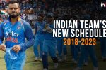 India Will Play Over 200 Matches, Host 102 Games In 2018-2023 Cycle: ICC