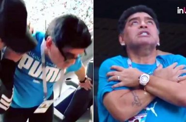 Diego Maradona Receives Medical Treatment