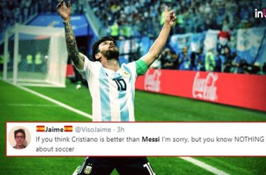 Tweeps React To Lionel Messi's Goal As Argentina Beat Nigeria