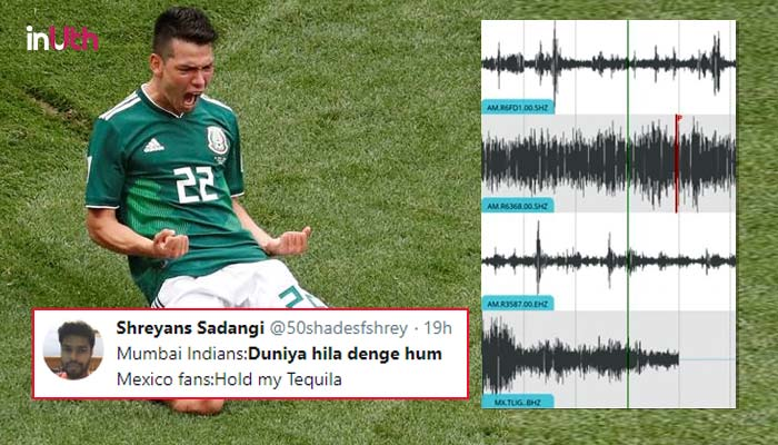 Apparently, Mexicans Partied So Hard Post Win Over Germany That It Caused An Earthquake