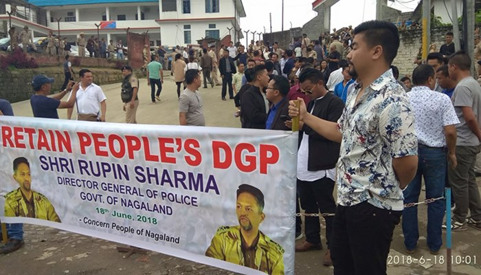 Why The Transfer Order Of A DGP Has Led To A Public Outcry In Nagaland