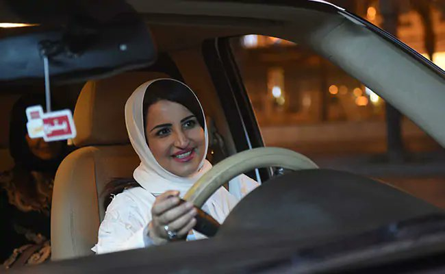 Finally, Women In Saudi Arabia Drive Legally For The FirstTime