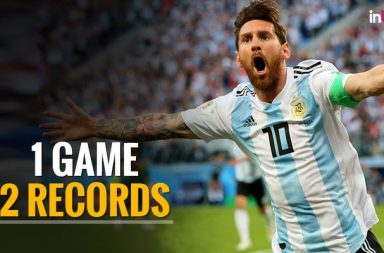 FIFA WC 2018: Lionel Messi sets two records