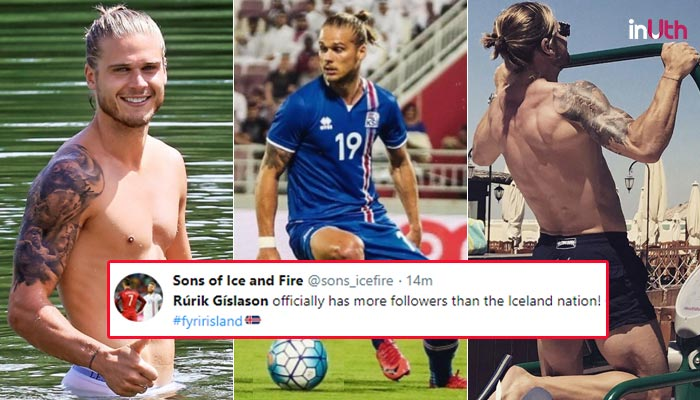 Iceland Player Rurik Gislason Gains Over 3 Lakh Instagram Followers By Playing Just 30 Minutes
