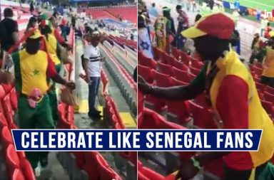 Senegal fans clean stadium, Senegal vs Poland, Poland vs Senegal, Senegal beat Poland, Senegal fans' gesture, FIFA World Cup 2018, FIFA World Cup 2018 amazing moments