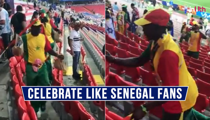 FIFA World Cup 2018: Senegal Fans Celebrated Their Win Over Poland By Cleaning Stadium and TweepsLove'em