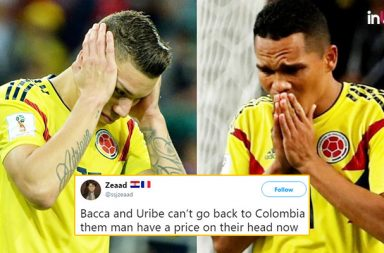 Colombian players death threat, Colombia vs England, England vs Colombia FIFA World Cup 2018, FIFA World Cup 2018 pre-quarterfinals, Bacca Colombia, Uribe Colombia, death threats