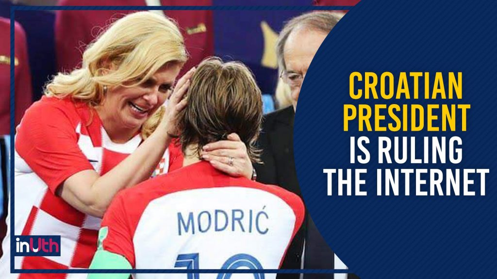Here's Why Football Fans Around The World Are Praising Croatian President Kolinda