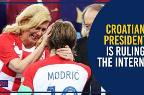 Here's Why Football Fans Around The World Are Praising Croatian President