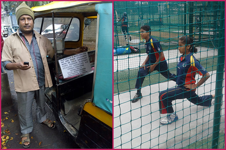 This Father Fixed A Donation Board In His Auto Rickshaw. Here's Why
