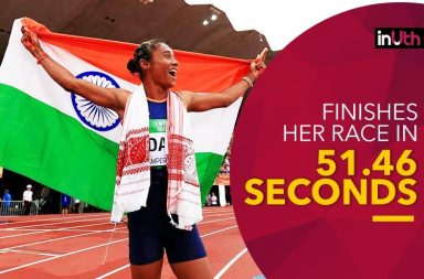 Hima Das, Daughter Of A Rice Farmer, Creates History By Winning Gold In 400m