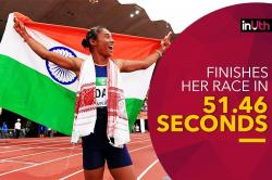 Hima Das, Daughter Of A Rice Farmer, Creates History By Winning Gold In 400m - WATCH