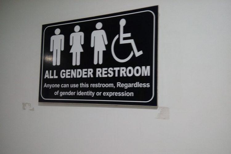Accenture LGBT inclusive bathroom