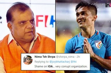 'How IOA Can Predict India Can't Win A Medal In Football?,' Twitter Flooded With Anger