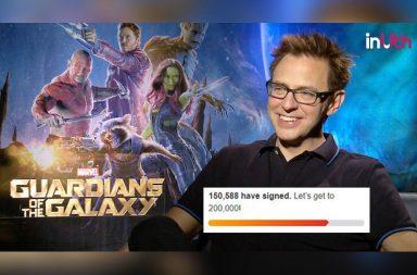Guardian Of The Galaxy 3, James Gunn, James Gunn tweets, James Gunn rape jokes, James Gunn Guardians Of The Galaxy Vol 3, Chris Pratt, Zoe Saldanha
