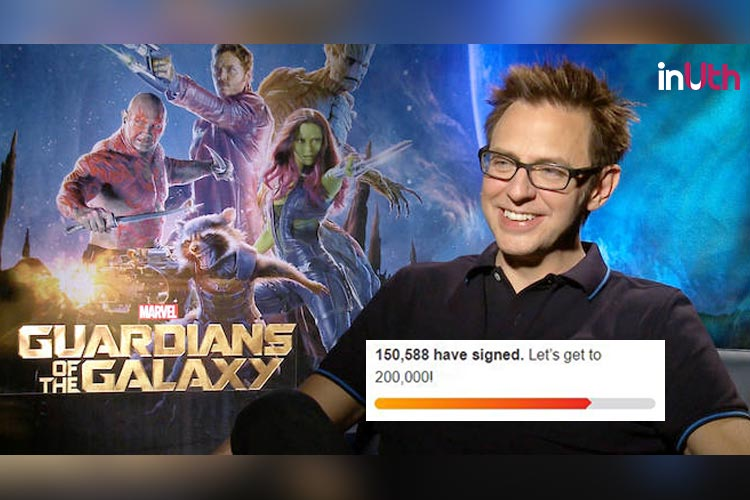 #WTF: There's A Petition To Rehire 'Guardians' Director After His 'Rape Jokes'Surface