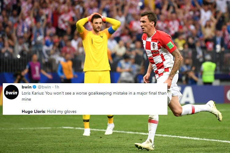 France Win FIFA World Cup 2018 But Mario Mandzukic Achieves Rare Feat, Trolls Hugo Lloris — Watch