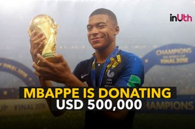 Kylian Mbappe donates World Cup earnings worth $500,000 to charity