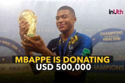 Mbappe To Donate His $500,000 World Cup Earnings, Tweeps Call Him A 'Future Star'