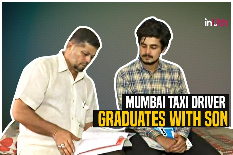 This Mumbai Taxi Driver Completed Graduation Along With Son