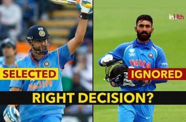 IND vs ENG 1st ODI: Suresh Raina Makes A Comeback In ODI After 1010 Days