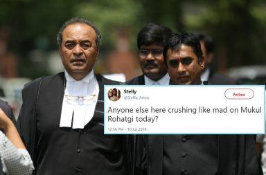 Senior Advocate, Mukul Rohatgi, Section 377