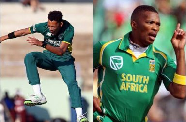 Thando Ntini, Makhaya Nitni, Makhaya Ntini son, Thando Ntini best bowling, Thando Ntini 4 wickets vs England, Thando Ntini bowling, South Africa Under-19 vs England Under 19 2018, Austin Waugh, Steve Waugh, Arjun Tendulkar, Sachin Tendulkar, Cricketers' son performance