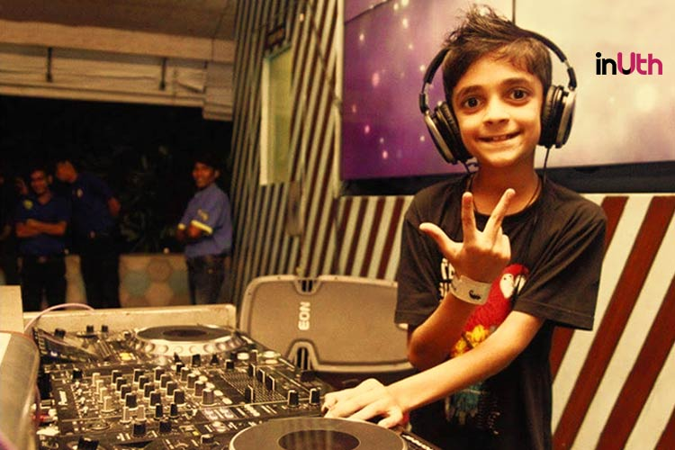 Meet India's Youngest Professional DJ, He Is Just 10