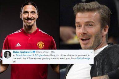 David Beckham Zlatan Ibrahimovic, David Beckham, Zlatan Ibrahimovic, Beckham-Zlatan banter, England vs Sweden, Sweden vs England, FIFA World Cup 2018
