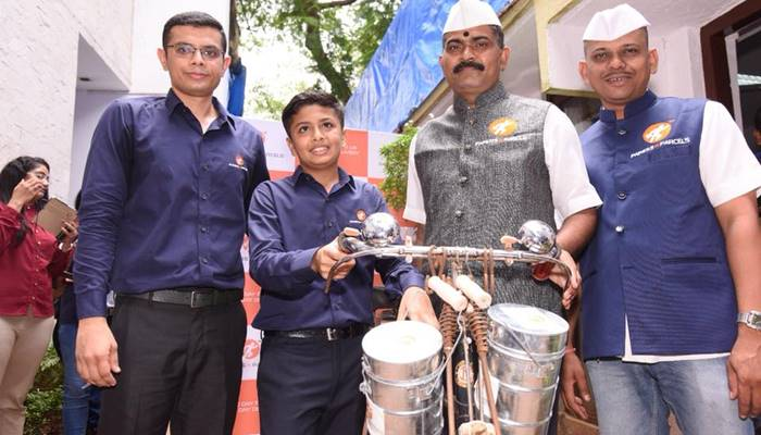 Mumbai Teen Joins Hands With Dabbawalas For Courier Start-up
