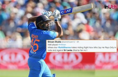 'Rohit Sharma Can Score Anywhere In World,' Tweeps Praise 'Hit Man'