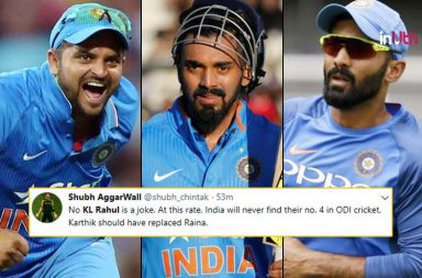 KL Rahul, Dinesh Karthik, Virat Kohli, Suresh Raina, KL Rahul dropped, Virat Kohli tactical move, Twitter reactions, India vs England, England vs India, IND vs ENG 3rd ODI, India's tour of England 2018, Headingly, Leeds