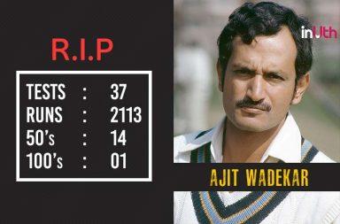 Ex-Captain Ajit Wadekar Dies At 77; Condolences Pour In On Twitter
