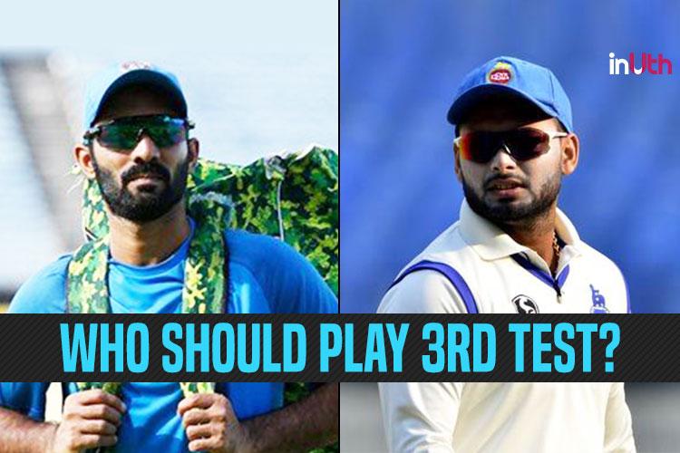 Should Rishabh Pant Replace Dinesh Karthik In Third Test vs England?