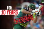 PSL Spot-Fixing Scandal: Nasir Jamshed Banned For 10 Years