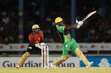 Andre Russell CPL hattrick, Andre Russell CPL century, Andre Russell fastest century, Caribbean Premier League 2018, Jamaica Tallawahs vs Trinbago Knight Riders, JT vs TKR CPL 2018, Trinbago Knight Riders vs Jamaica Tallawahs, CPL 2018 fastest century, Highest sixth-wicket T20 partnership, Kennar Lewis, Andre Russell-Kennar Lewis