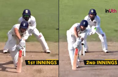 Alastair Cook Bowled Out Twice By Ashwin With Identical Deliveries
