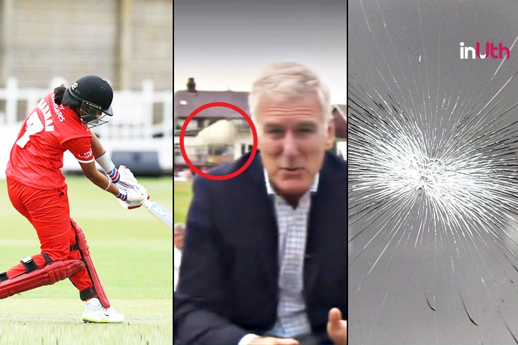 Harmanpreet Kaur's Dangerous Strokeplay Cracks Car's Glass, Almost Injures BBC Journalist —Watch