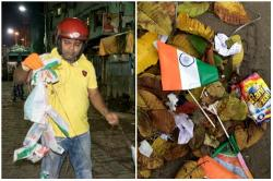 This Kolkata Man Has Been Cleaning Up Your Unpatriotic I-Day Mess For 8 Years