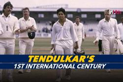 Sachin Tendulkar's 1st of 100 International Centuries — An Inspiration For Struggling Indian Batsmen