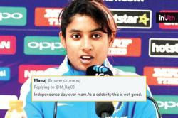 Mithali Raj Shuts Up Troll Criticising Her For Delayed Independence Day Message