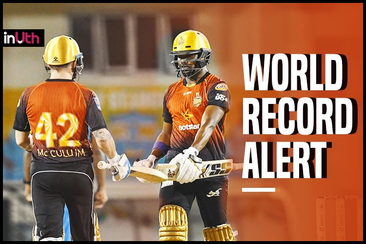 Trinbago Knight Riders, St Lucia Stars Equal World Record; Most Number Of Sixes In A T20 Match
